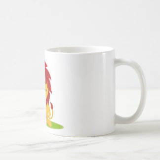 The survival of the fittest coffee mug