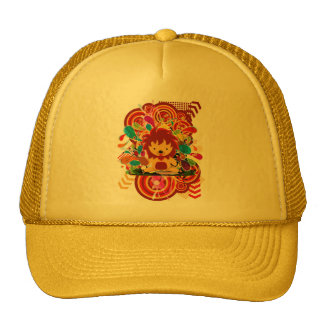 The survival of the fittest trucker hat