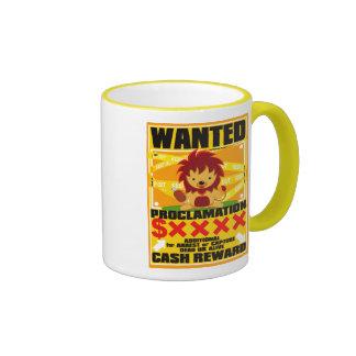 The survival of the fittest ringer mug