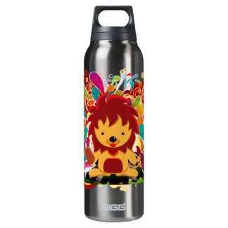 The survival of the fittest thermos water bottle