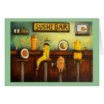 The Sushi Bar Greeting Card