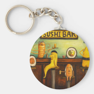 The Sushi Bar Keychain