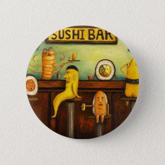 The Sushi Bar Pinback Button