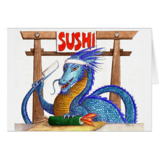 The Sushi Chef Card