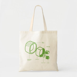 "The ""Sushi"" Tote Canvas Bags"