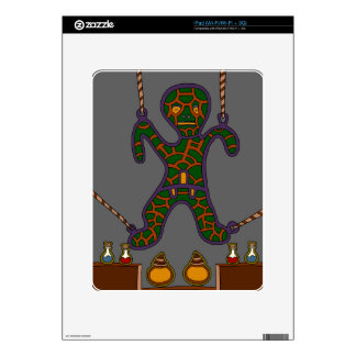 The Suspended Man Decal For iPad