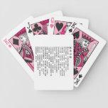 the sutra(hannya shingyo) card deck