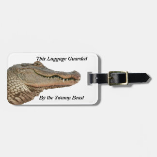 The Swamp Beast Luggage Tag