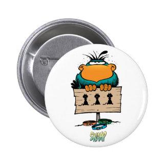 The Swamp Bludgerigar 2 Inch Round Button
