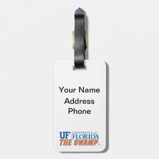 The Swamp - Orange & Blue Tag For Luggage