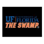 The Swamp - Orange & White Postcard