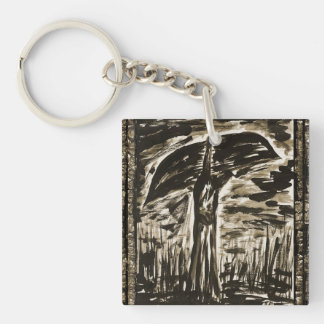 The Swamp & Signs From The Earth Double-Sided Square Acrylic Keychain
