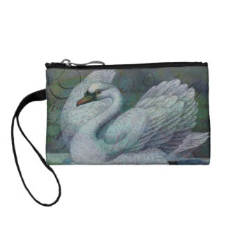 The Swan Also Rises Coin Purse