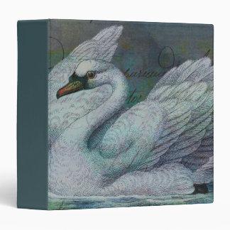The Swan Also Rises Vinyl Binders