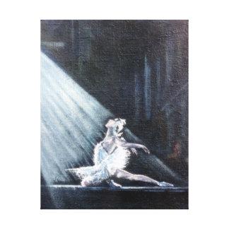The Swan (Ballet) /The Swan (Ballet) Canvas Print