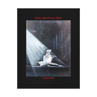 The Swan (Ballet) /The Swan (Ballet) Canvas Print