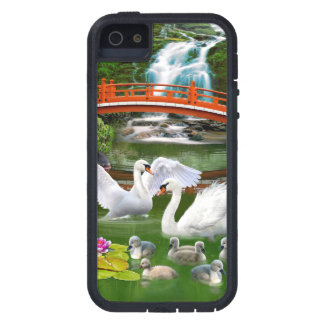 THE SWAN FAMILY CASE FOR iPhone SE/5/5s