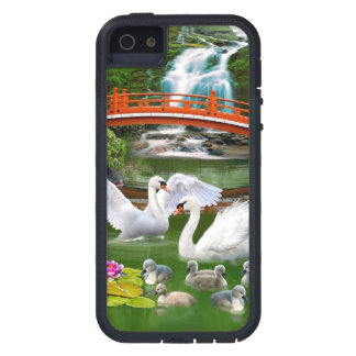 THE SWAN FAMILY iPhone SE/5/5s CASE