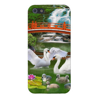 THE SWAN FAMILY iPhone SE/5/5s COVER
