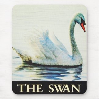The Swan Mouse Pad