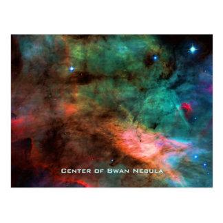 The Swan Nebula Center Postcard