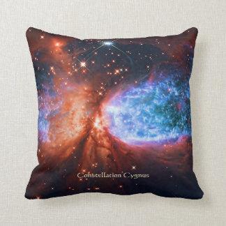 The Swan, Star Birth in Constellation Cygnus Throw Pillow
