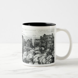 The Swan Theatre on the Bankside Two-Tone Coffee Mug