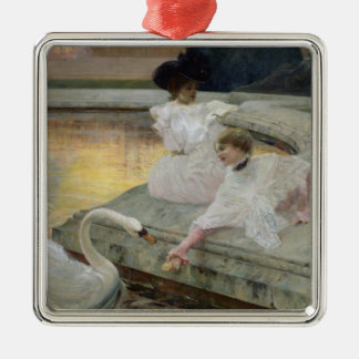 The Swans, 1900 Metal Ornament