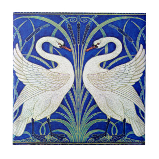 The Swans by Walter Crane Tile