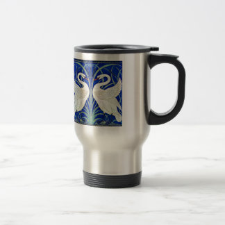 The Swans by Walter Crane Travel Mug