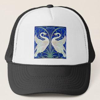 The Swans by Walter Crane Trucker Hat