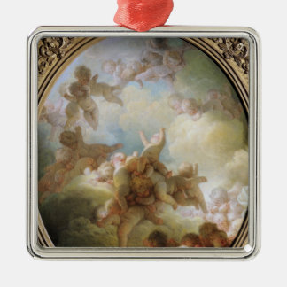 The Swarm of Cupids, c.1767 Metal Ornament