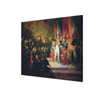 The Swearing-In of Louis-Philippe Canvas Print