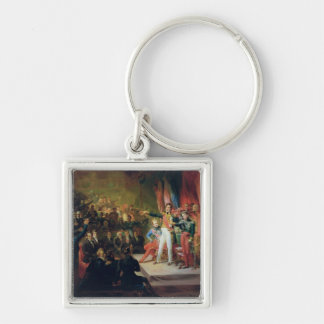 The Swearing-In of Louis-Philippe Keychain
