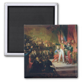 The Swearing-In of Louis-Philippe Magnet