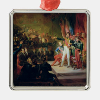 The Swearing-In of Louis-Philippe Metal Ornament