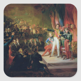 The Swearing-In of Louis-Philippe Square Sticker