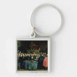 The Swearing of the Oath of Ratification Keychain