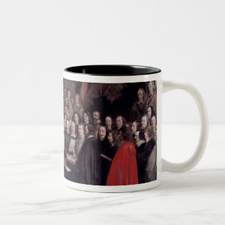 The Swearing of the Oath of Ratification Two-Tone Coffee Mug