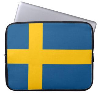 The Swedish flag Computer Sleeve