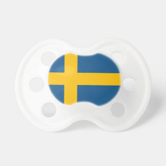 The Swedish flag Pacifier