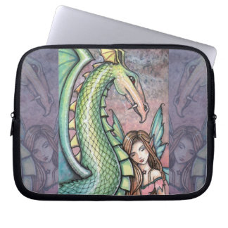 The Sweet Beast Fairy Dragon Laptop Sleeve
