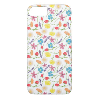 The Sweet Colorful Little Flowers iPhone 8/7 Case