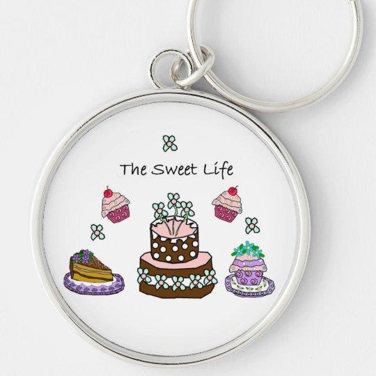 The Sweet Life Keychain