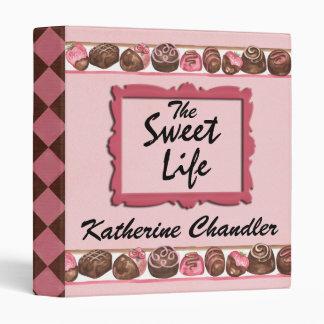 The Sweet Life Recipe Binder by SRF
