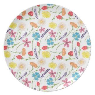 The Sweet Little Flowers Plate