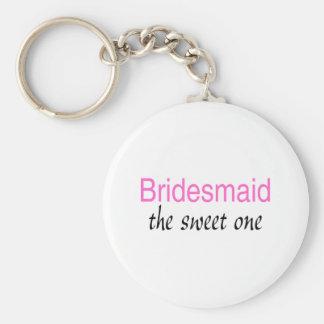 The Sweet One (Bridesmaid) Keychain