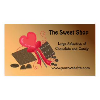 The Sweet Shop Double-Sided Standard Business Cards (Pack Of 100)
