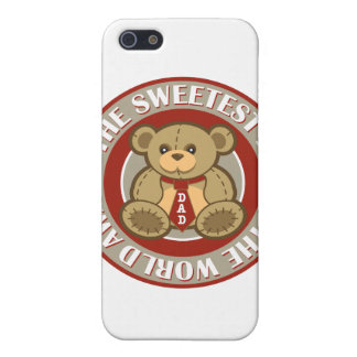 The Sweetest Dad in the World Award iPhone 5 Covers