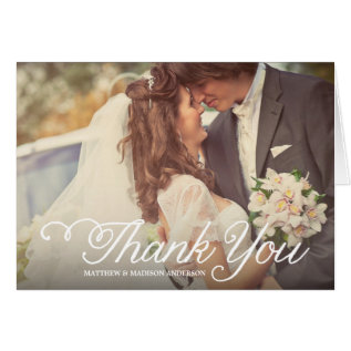 The Sweetest Day | Wedding Thank You Greeting Card at Zazzle